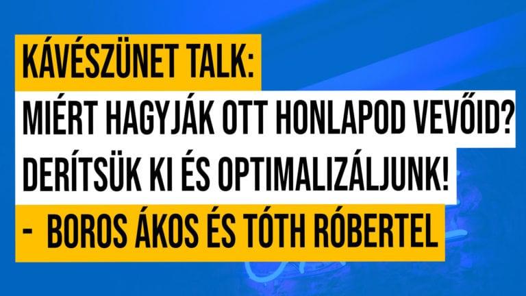 Kaveszunet Talk Live 3a