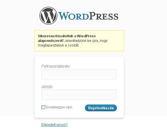 Kidobóst játszik velünk a WordPress 3.4